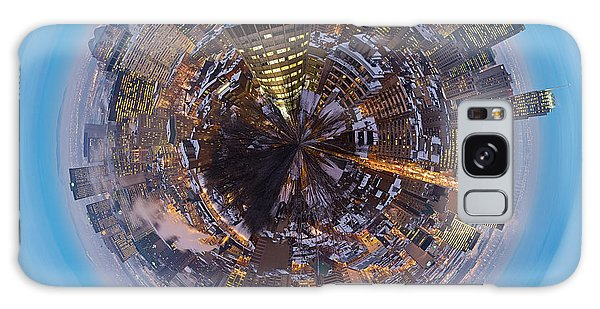 Quebec City Galaxy Case - Planet Wee Montreal Quebec by Nikki Marie Smith