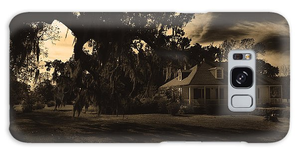 Plantation House  Galaxy Case by Maggy Marsh