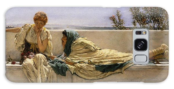 Heartache Galaxy Case - Pleading by Sir Lawrence Alma-Tadema