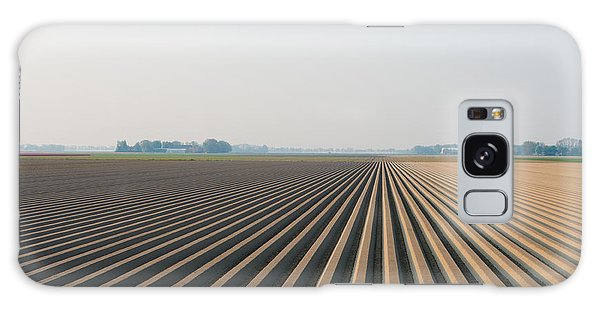 Plowed Field Galaxy Case by Hans Engbers