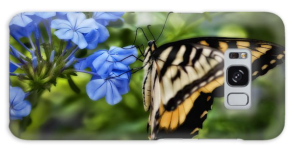 Plumbago And Swallowtail Galaxy Case