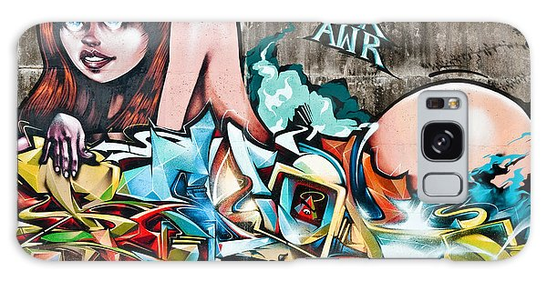 Plunged In Graffiti Galaxy Case