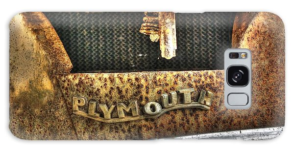 Plymouth Logo Relic Galaxy Case by Dan Stone