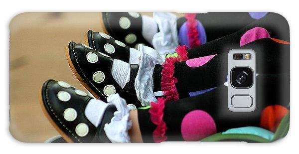 Polka Dots Feet Galaxy Case