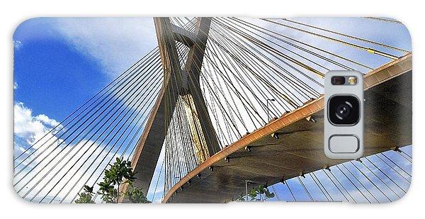 Ponte Estaiada Octavio Frias De Oliveira Ao Cair Da Tarde Galaxy Case