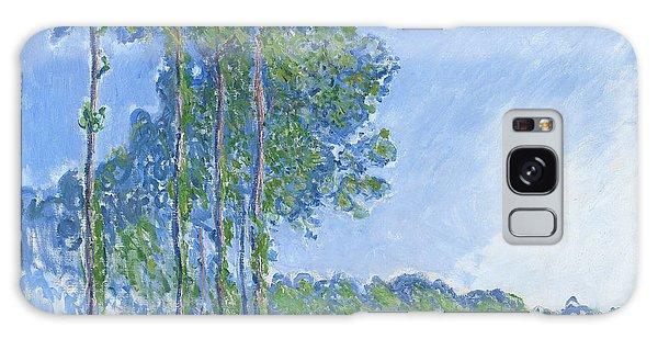 Impressionism Galaxy S8 Case - Poplars by Claude Monet