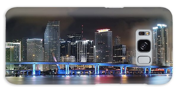 Port Of Miami Downtown Galaxy Case
