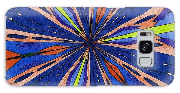 Portal To The Past Galaxy Case by Alec Drake