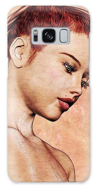 Portrait - No. 10 - Colour Galaxy Case