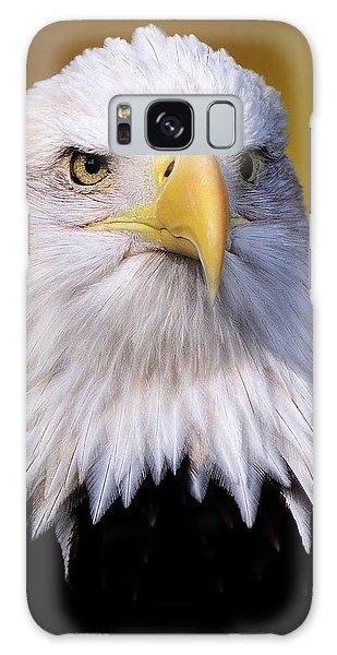 Portrait Of A Bald Eagle Galaxy Case