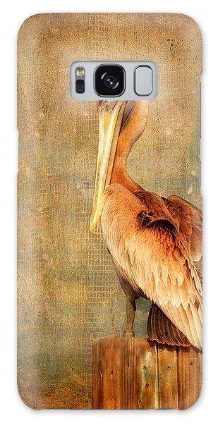 Portrait Of A Pelican Galaxy Case