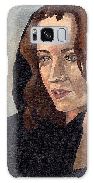 Portrait Of Becca 2 Galaxy Case