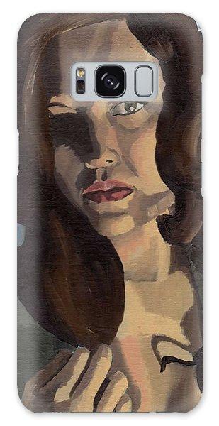 Portrait Of Emily Ann Galaxy Case
