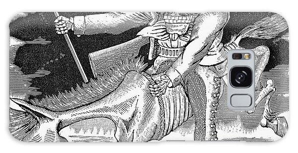 Calavera Galaxy Case - Posada: Calavera Zapatista by Granger