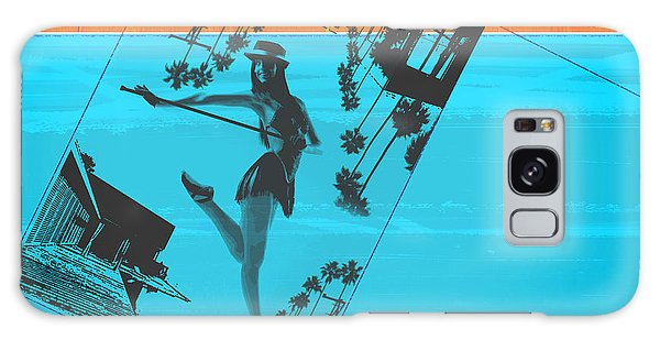 Los Angeles Galaxy Case - Post Card From La by Naxart Studio