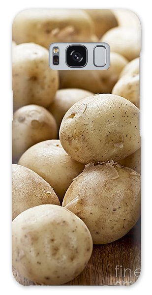 Potato Galaxy Case - Potatoes by Elena Elisseeva