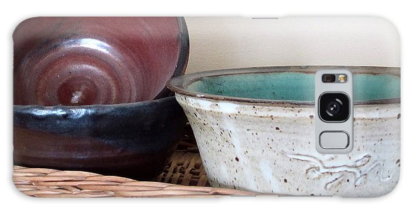 Pottery In A Basket Galaxy Case by Kathy Sheeran