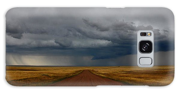 Prairie Storm In Canada Galaxy Case by Vivian Christopher