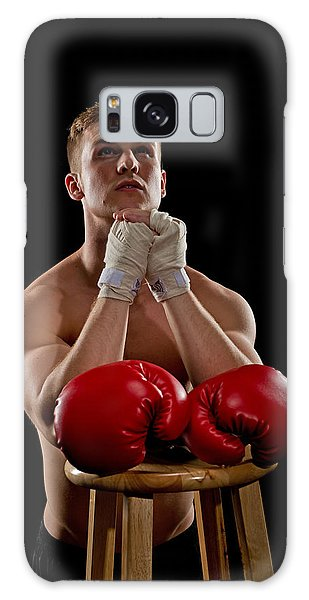 Praying Boxer Galaxy Case