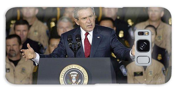 President George W. Bush Speaks Galaxy Case