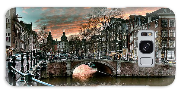 Prinsengracht And Reguliersgracht. Amsterdam Galaxy Case