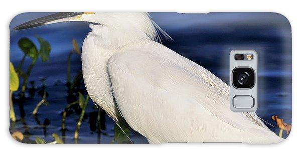 Profile Of A Snowy Egret Galaxy Case