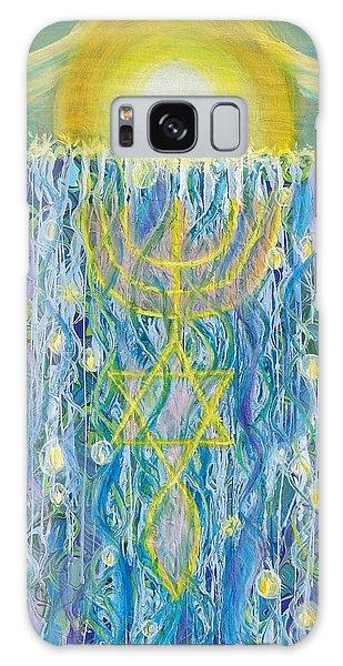 Prophetic Message Sketch Painting 26 Elohim Elohim Latter Rain Galaxy Case