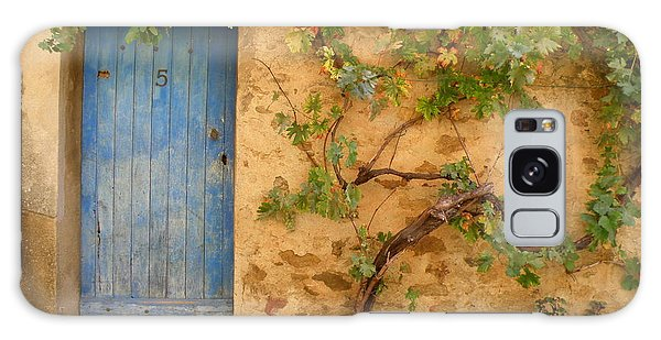 Provence Door 5 Galaxy Case by Lainie Wrightson