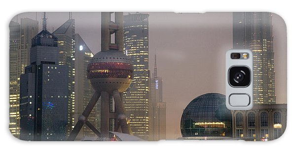 People's Republic Of China Galaxy Case - Pudong New Area And Oriental Pearl by Scott S. Warren