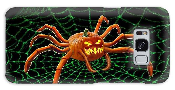 Pumpkin Spider Galaxy Case by Glenn Holbrook