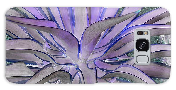 Purple Aloe Galaxy Case by Rebecca Margraf