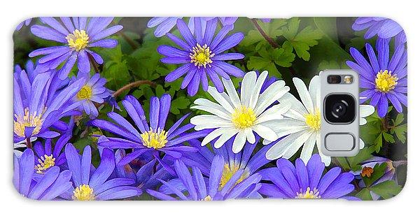 Purple Bouquet Galaxy Case by Billie-Jo Miller