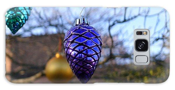 Purple Cone Galaxy Case by Richard Reeve