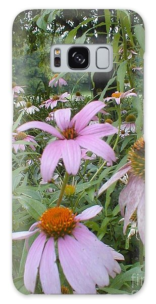 Purple Coneflowers Galaxy Case by Vonda Lawson-Rosa