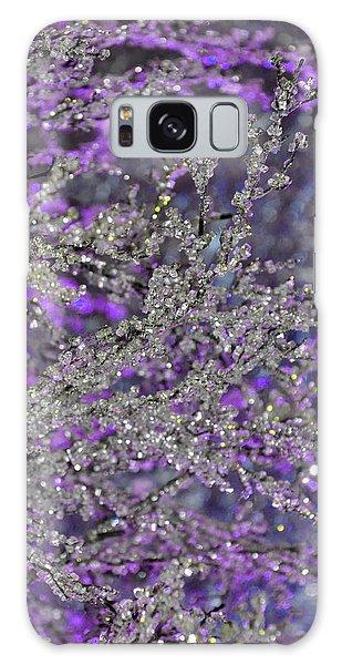 Purple Crystal Galaxy Case