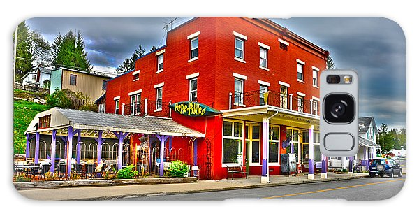 Galaxy Case featuring the photograph Purple Fiddle In Thomas Wv by Dan Friend