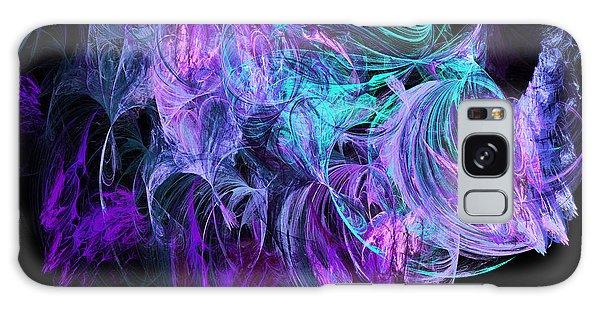 Purple Fusion Galaxy Case