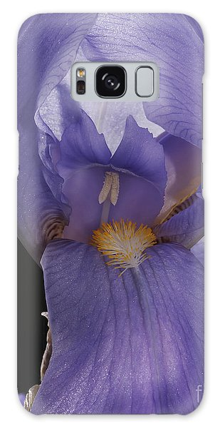 Purple Iris Galaxy Case by Art Whitton