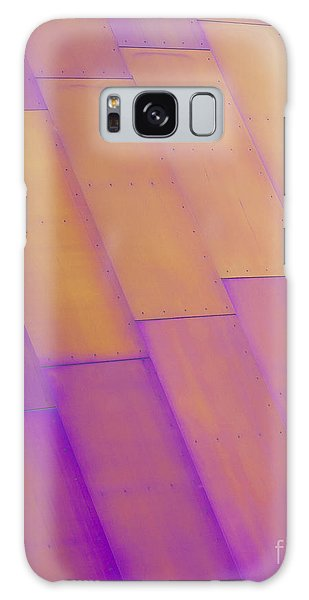 Purple Orange I Galaxy Case by Chris Dutton