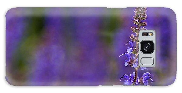 Purple Spires Galaxy Case by Trevor Chriss
