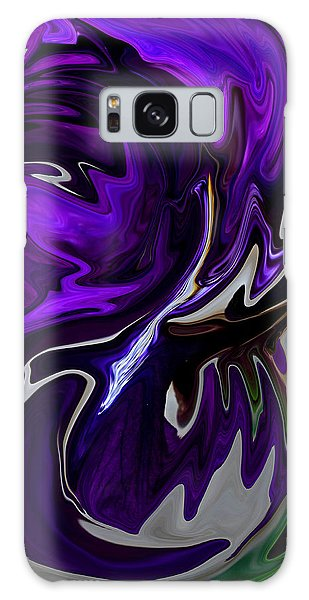 Purple Swirl Galaxy Case