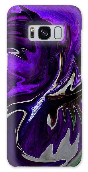 Purple Swirl Galaxy Case