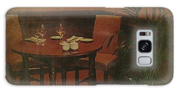 Quiet Nook In Hotel Dining Room Galaxy Case