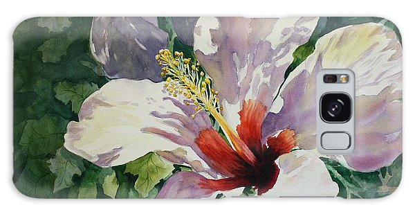 Radiant Light - Hibiscus Galaxy Case by Roxanne Tobaison