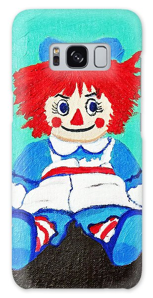 Raggedy Ann With An Attitude Galaxy Case by Margaret Harmon