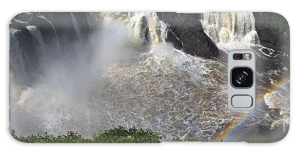Rainbow And The Waterfall Galaxy Case by Vilas Malankar