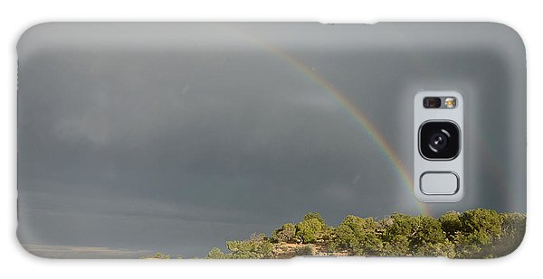 Rainbow At Grand Canyon Galaxy Case