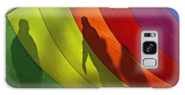 Rainbow Shadows Galaxy Case