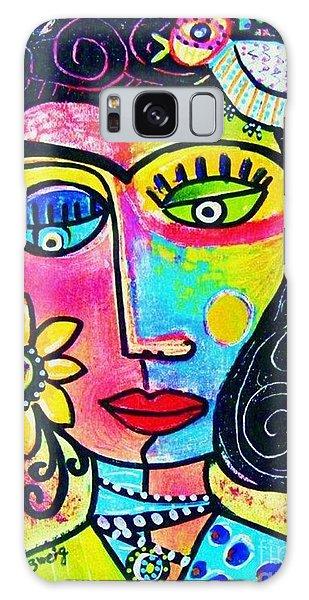 Rainbow Sunshine Frida Galaxy Case