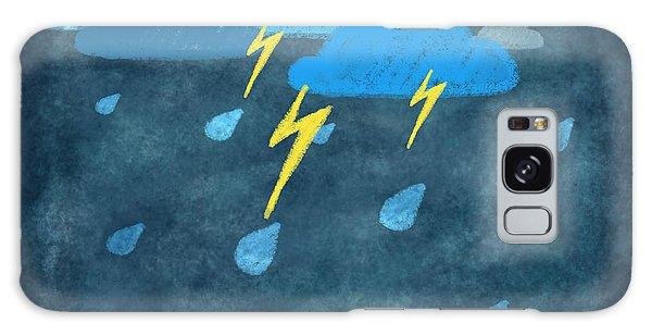 Recycle Galaxy Case - Rainy Day With Storm And Thunder by Setsiri Silapasuwanchai